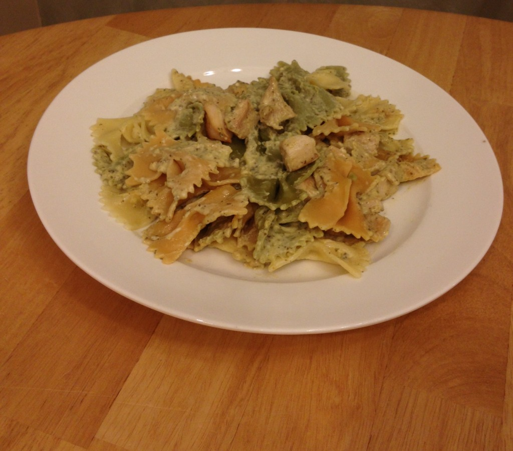 creamy chicken pesto 2