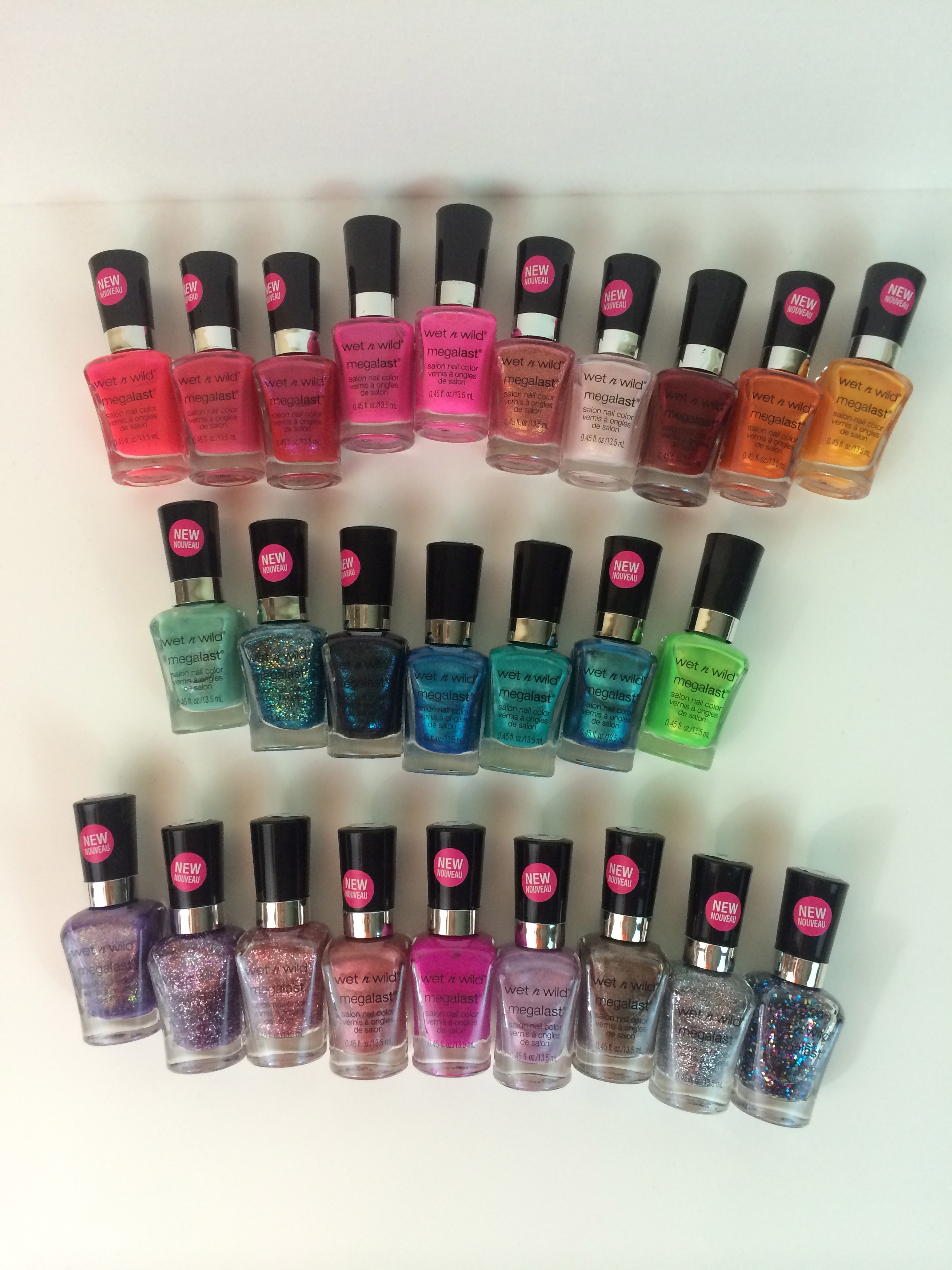 Wet n\' Wild Megalast Nail Polish! Dollar General Exclusive Colors!!