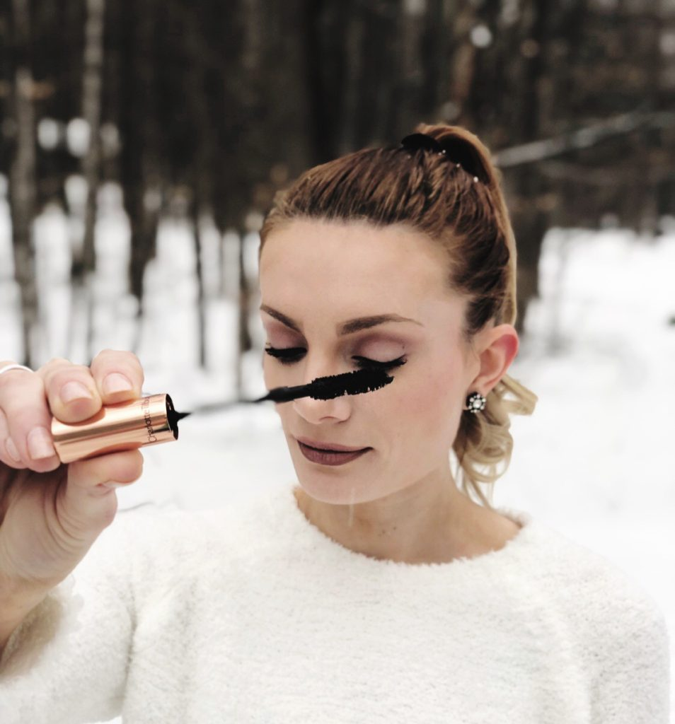 c5e3ba50728 ... that has been the BEST mascara I've used in my 15+ years wearing makeup.  *Note: It was snowing beautiful, Hallmark Christmas Movie moment snowflakes  ...