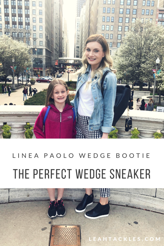 The Perfect Wedge Sneaker | Linea Paolo
